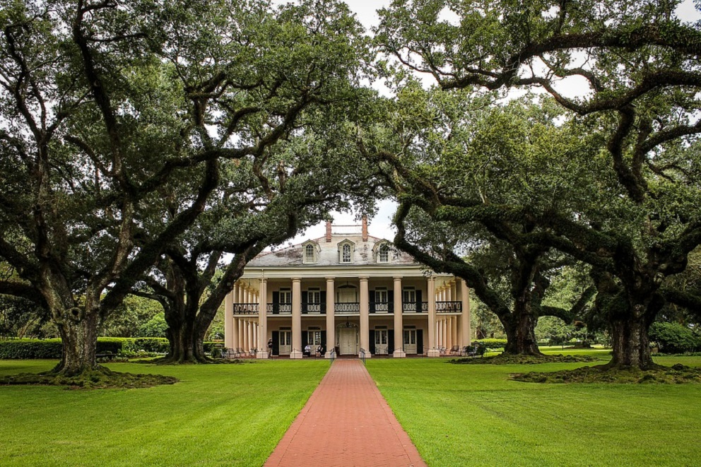 Les plantations en Louisiane