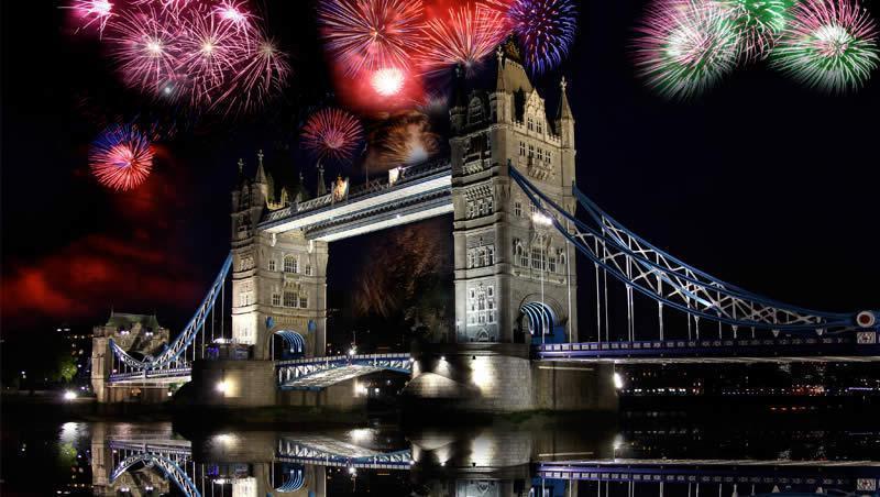 Séjour nouvel an Londres