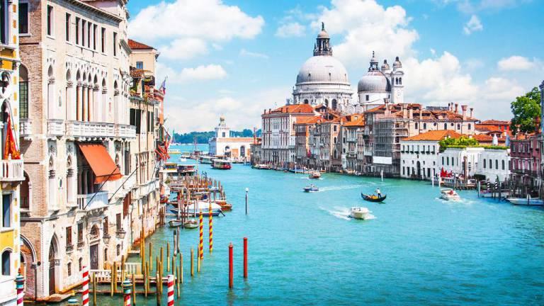 Les grands pèlerinages chrétiens à partir de l`Angleterre au Moyen-Âge - Canterbury -Terre-Sainte - Rome - Compostelle Venise5_768a