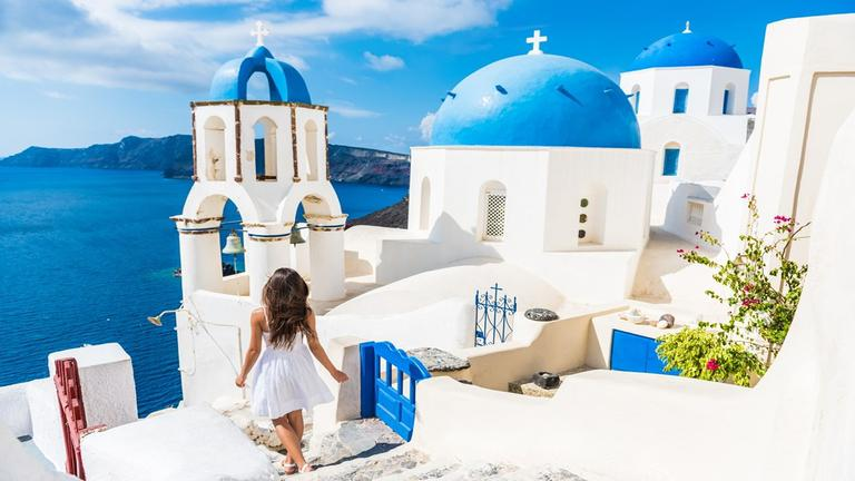 2 îles: Santorin & Paros