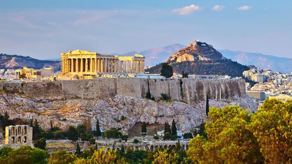 Grèce Classique au volant