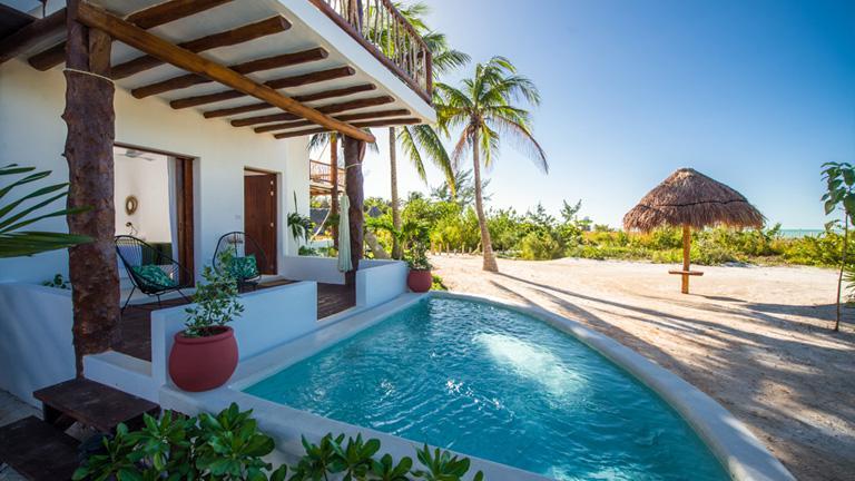 vacances mexique s jour holbox. Black Bedroom Furniture Sets. Home Design Ideas