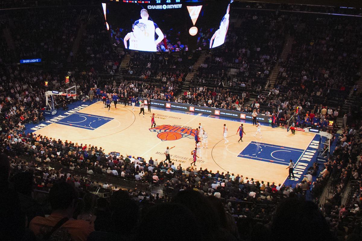 New York spécial NBA au Madison Square Garden