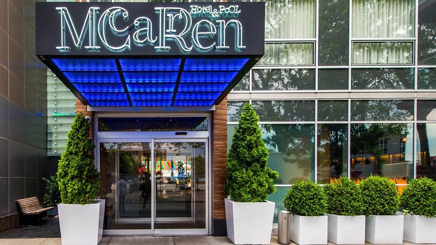 Hôtel New York, Mc Carren Pool & Spa