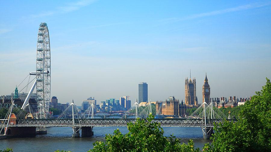 Partir à Londres en Eurostar